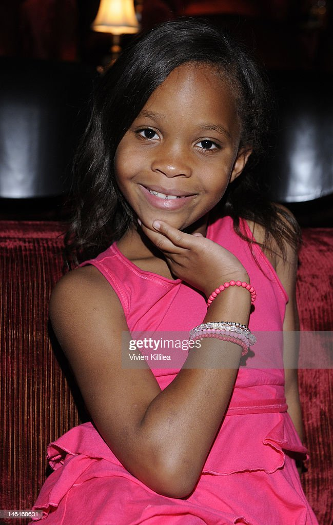 Actress Quvenzhane Wallis attends 'Beasts Of The Southern Wild' Special Screening - Panel And Q&A at Soho House on June 16, 2012 in West Hollywood, California.