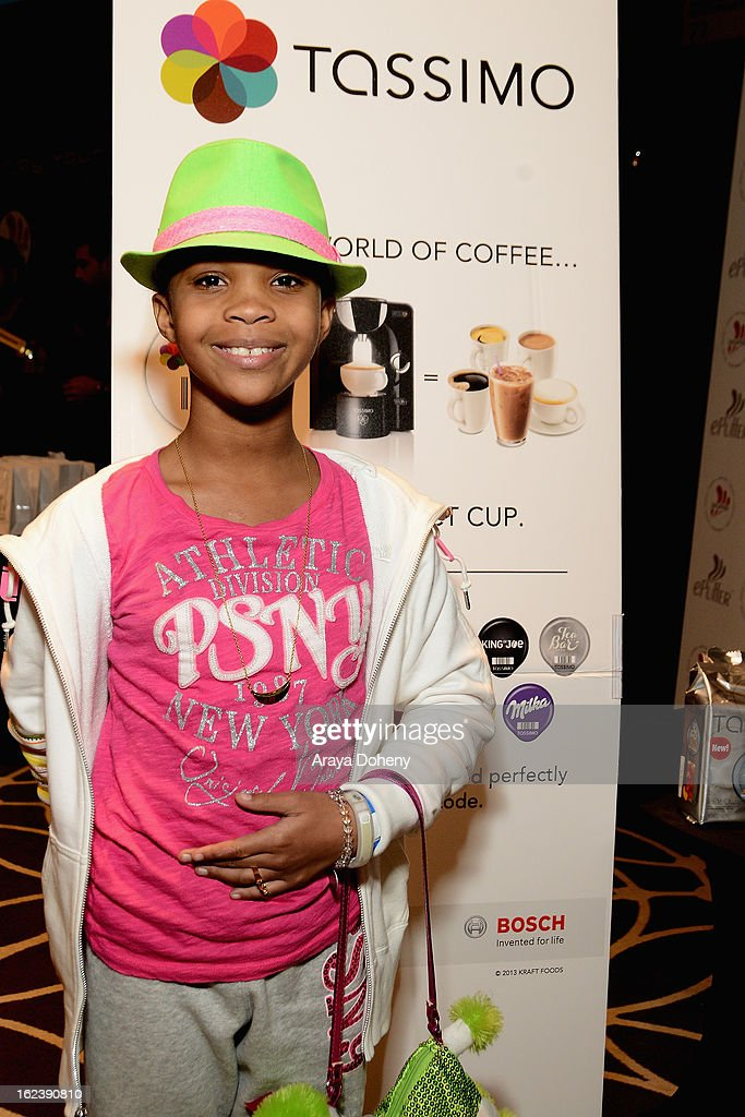 Actress Quvenzhane Wallis attends Kari Feinstein's Pre-Academy Awards Style Lounge at W Hollywood on February 22, 2013 in Hollywood, California.