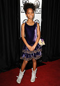 Actress Quvenzhane Wallis attends the 38th annual Los Angeles Film Critics Association Awards at InterContinental Hotel on January 12 2013 in Century...