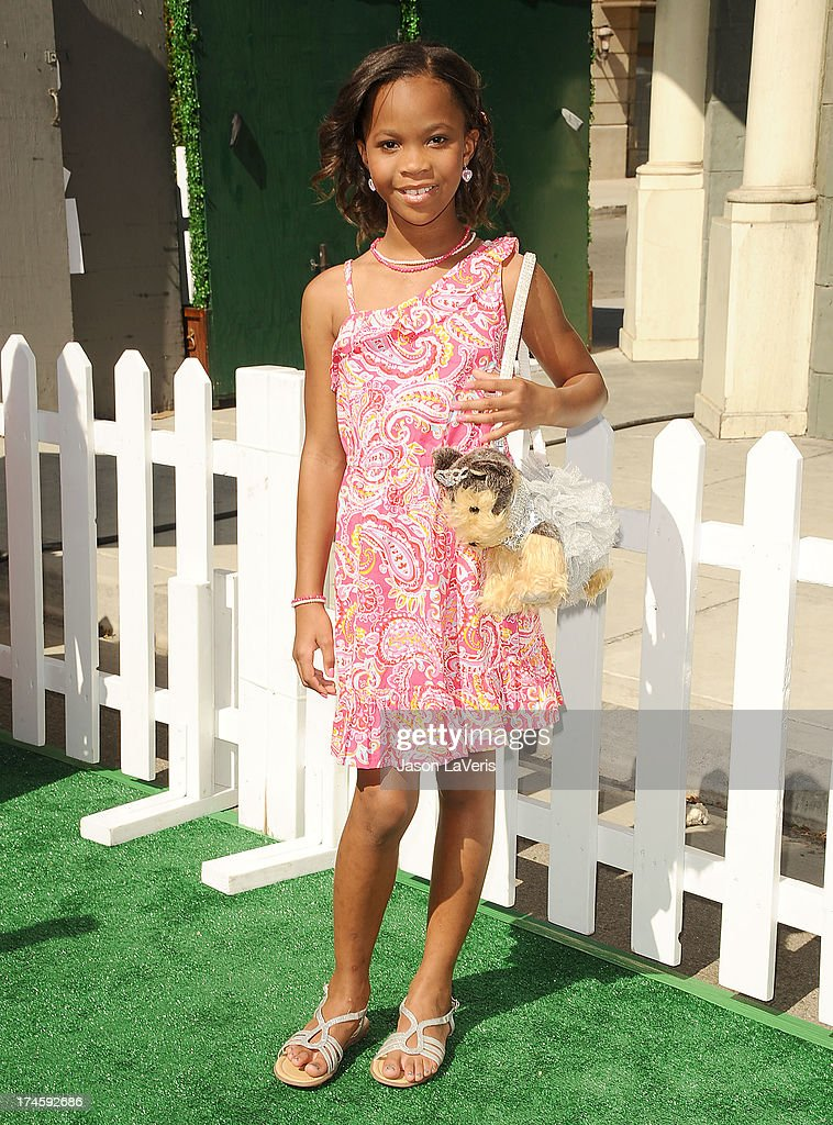 Actress Quvenzhane Wallis attends Variety's 7th annual Power of Youth event at Universal Studios Hollywood on July 27, 2013 in Universal City, California.