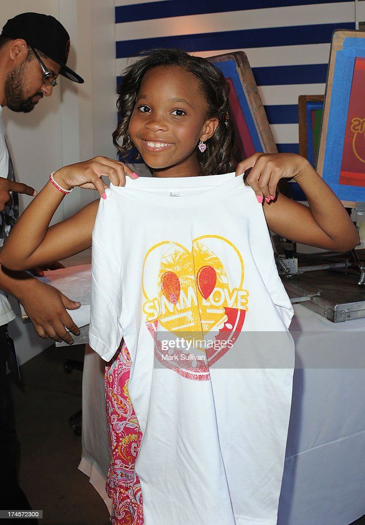 Actress Quvenzhane Wallis attends Variety's Power of Youth presented by Hasbro, Inc. and generationOn at Universal Studios Backlot on July 27, 2013 in Universal City, California.