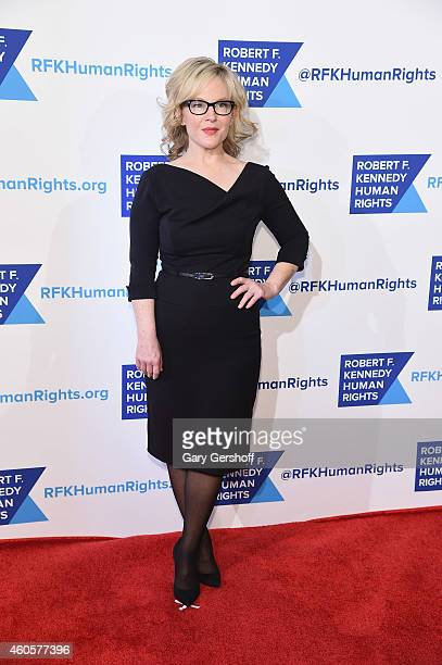 Actress Rachael Harris attends the 2014 RFK Ripple Of Hope Awards at New York Hilton on December 16 2014 in New York City
