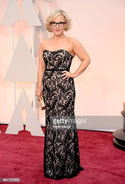 Actress Rachael Harris attends the 87th Annual Academy Awards at Hollywood Highland Center on February 22 2015 in Hollywood California
