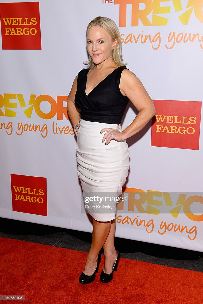 Actress Rachael Harris attends the Trevor Project's 2014 'TrevorLIVE NY' Event at the Marriott Marquis Hotel on June 16, 2014 in New York City.