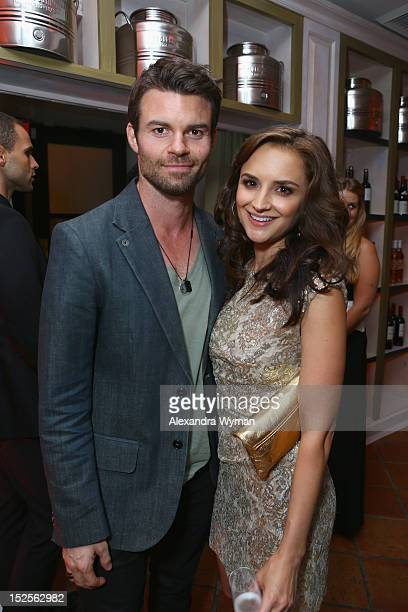 Actress Rachael Leigh Cook and Daniel Gillies attend The 2012 Entertainment Weekly PreEmmy Party Presented By L'Oreal Paris at Fig Olive Melrose...
