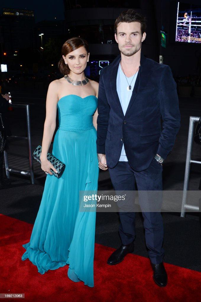 Actress Rachael Leigh Cook and husband Daniel Gillies attends the 39th Annual People's Choice Awards at Nokia Theatre LA Live on January 9 2013 in...