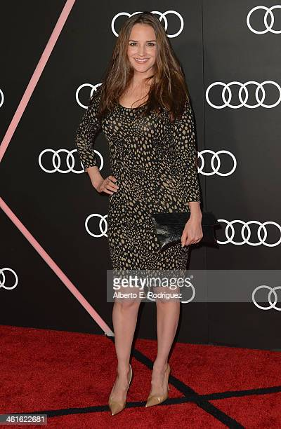 Actress Rachael Leigh Cook arrives to Audi Celebrates Golden Globes Weekend at Cecconi's Restaurant on January 9 2014 in Los Angeles California