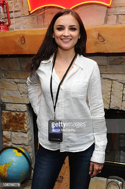 Actress Rachael Leigh Cook attends Levi's AE Showroom in Park City on January 22 2011 in Park City Utah