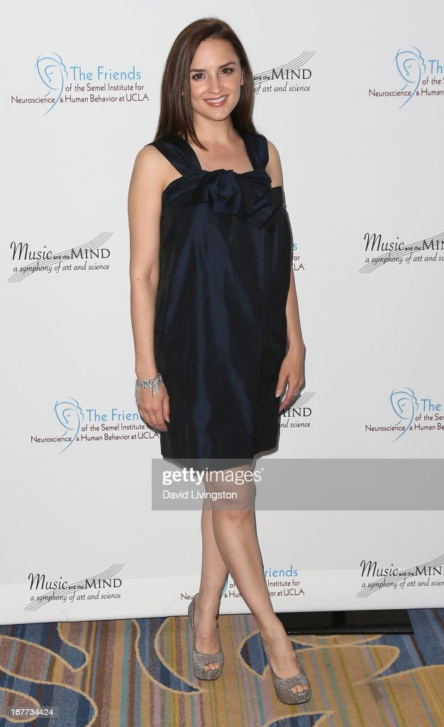 Actress Rachael Leigh Cook attends the Friends of the Semel Institute for Neuroscience & Human Behavior at UCLA's Inaugural Music and the Mind gala at the Regent Beverly Wilshire Hotel on April 28, 2013 in Beverly Hills, California.