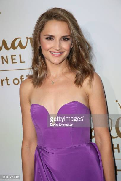 Actress Rachael Leigh Cook attends the Hallmark Channel and Hallmark Movies and Mysteries 2017 Summer TCA Tour on July 27 2017 in Beverly Hills...