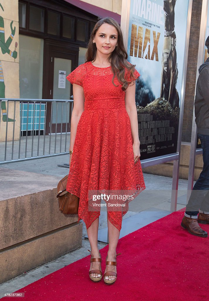 Actress Rachael Leigh Cook attends the Los Angeles premiere of 'MAX' at the Egyptian Theatre on June 23 2015 in Hollywood California