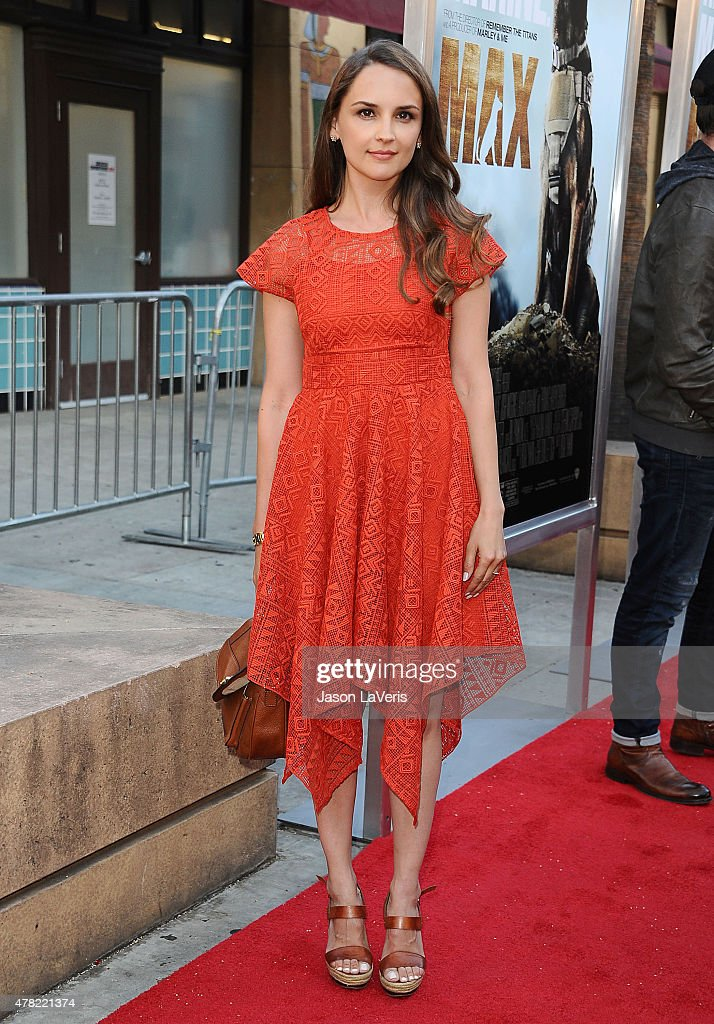 Actress Rachael Leigh Cook attends the premiere of 'MAX' at the Egyptian Theatre on June 23 2015 in Hollywood California