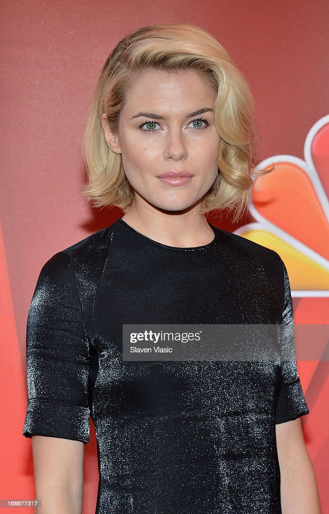 Actress Rachael Taylor attends 2013 NBC Upfront Presentation Red Carpet Event at Radio City Music Hall on May 13, 2013 in New York City.