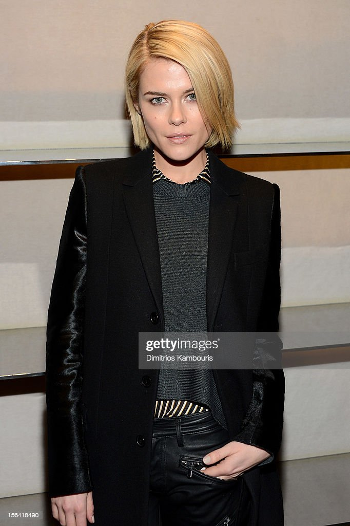 Actress Rachael Taylor attends Barneys New York And Disney Electric Holiday Window Unveiling Hosted By Sarah Jessica Parker, Bob Iger, And Mark Lee on November 14, 2012 in New York City.