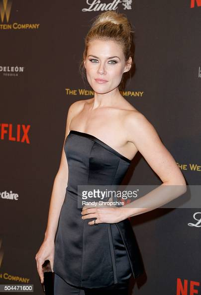 Actress Rachael Taylor attends the 2016 Weinstein Company and Netflix Golden Globe Awards After Party at The Beverly Hilton on January 10 2016 in Los...
