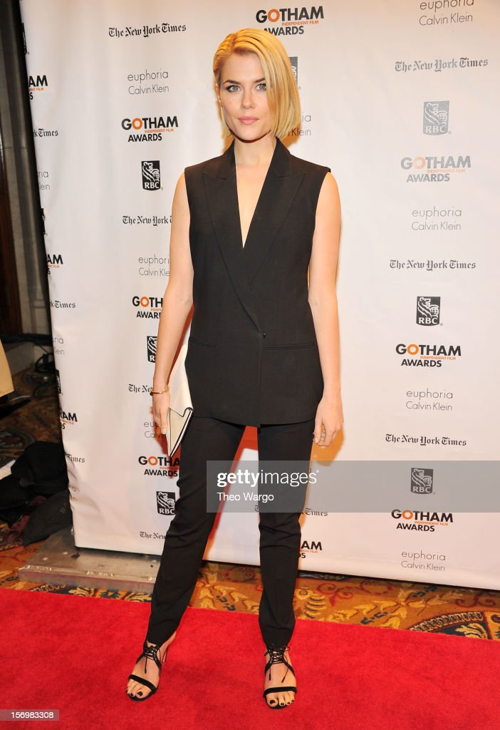 Actress Rachael Taylor attends the 22nd Annual Gotham Independent Film Awards at Cipriani Wall Street on November 26, 2012 in New York City.