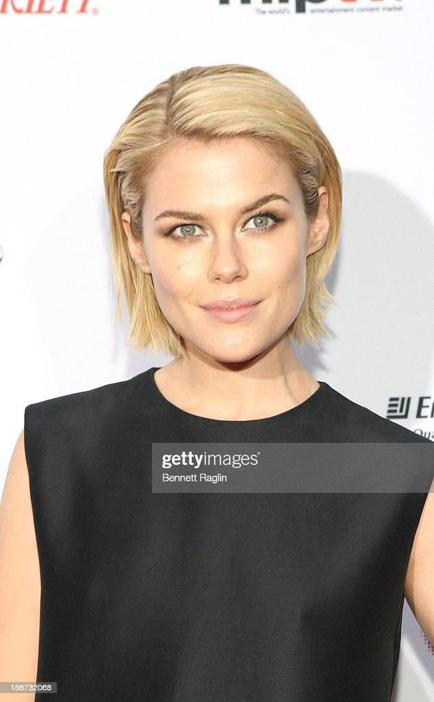 Actress Rachael Taylor attends the 40th Annual International Emmy Awards at the Hilton New York on November 19, 2012 in New York City.