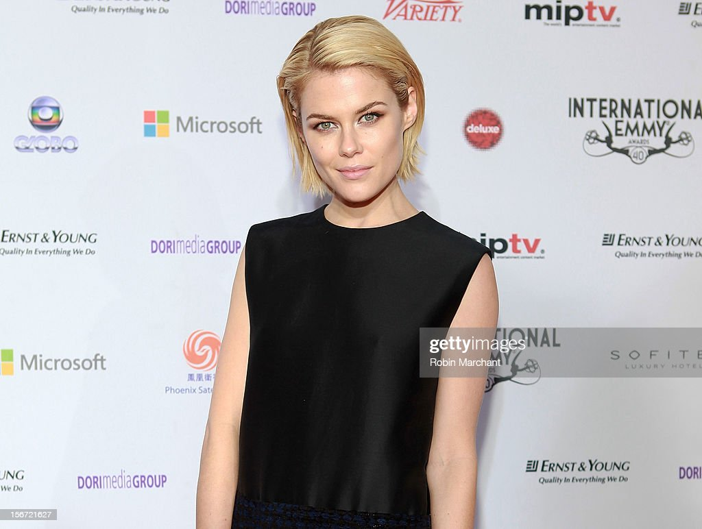 Actress Rachael Taylor attends the 40th International Emmy Awards on November 19, 2012 in New York City.