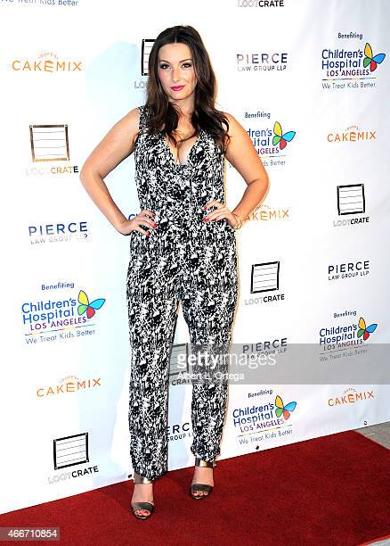 Actress Rachel Ann Mullins arrives for the Super Sweet Toy Drive Benefiting Children's Hospital Los Angeles held at Cake Mix on March 17 2015 in Los...