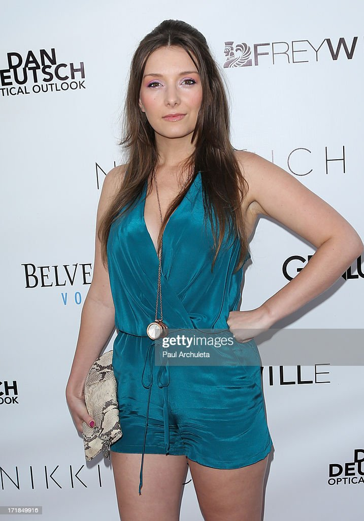 Actress Rachel Ann Mullins attends the Genlux Magazine summer issue release party at the Luxe Rodeo Drive Hotel on June 28, 2013 in Beverly Hills, California.