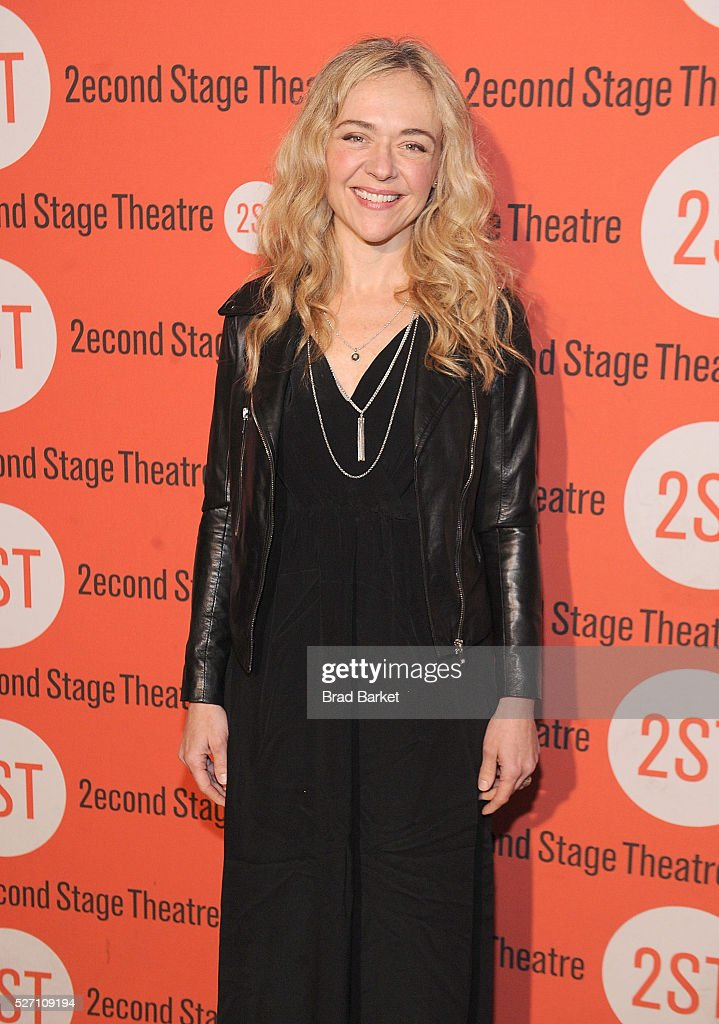 Actress Rachel Bay Jones attends 'Dear Evan Hansen' Off-Broadway Opening Celebration - Party at John's Pizzeria on May 1, 2016 in New York City.