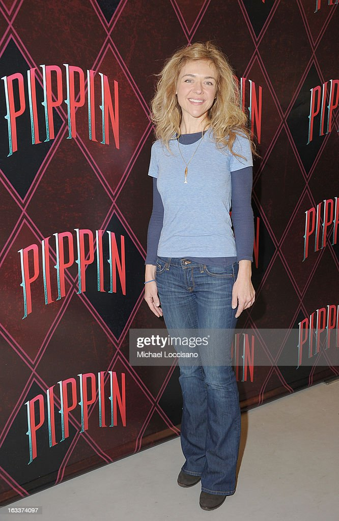 Actress Rachel Bay Jones attends the 'Pippin' Broadway Open Press Rehearsal at Manhattan Movement & Arts Center on March 8, 2013 in New York City.