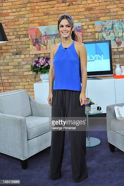 Actress Rachel Bilson appears on The Marilyn Denis Show on May 29 2012 in Toronto Canada