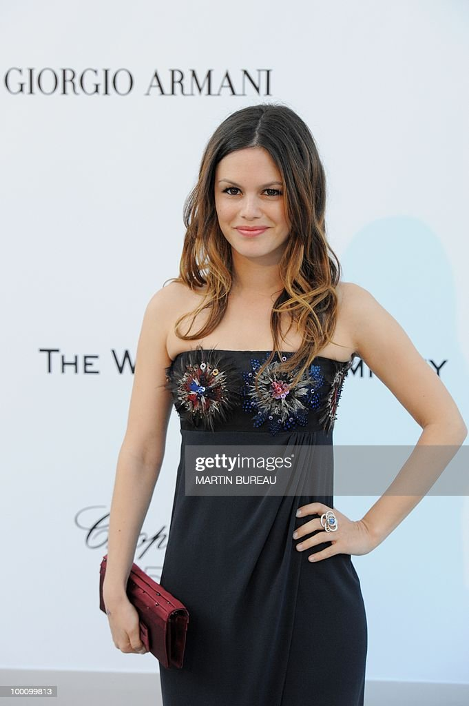 US actress Rachel Bilson arrives at amfAR's Cinema Against Aids 2010 benefit gala on May 20, 2010 in Antibes, southeastern France.