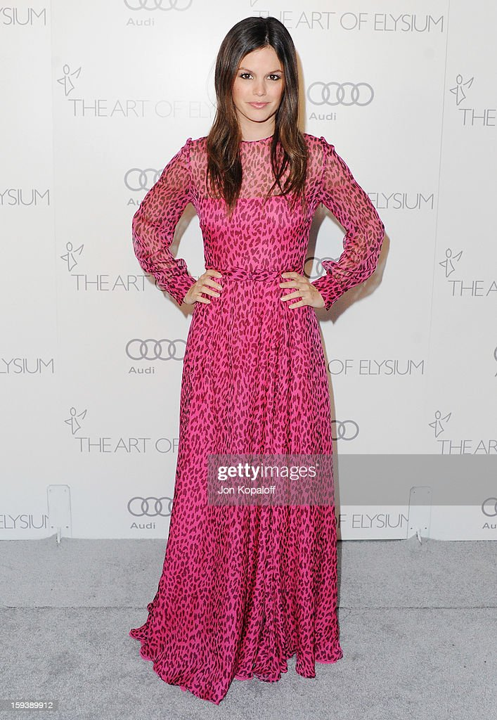 Actress Rachel Bilson arrives at the Art Of Elysium's 6th Annual Heaven Gala on January 12, 2013 in Los Angeles, California.