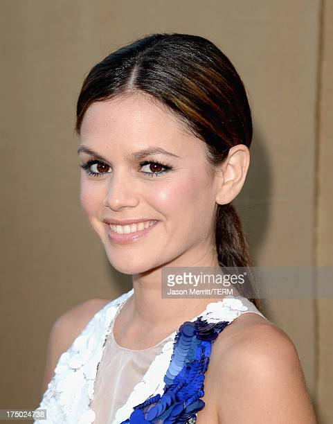 Actress Rachel Bilson arrives at the CW CBS and Showtime 2013 summer TCA party on July 29 2013 in Los Angeles California