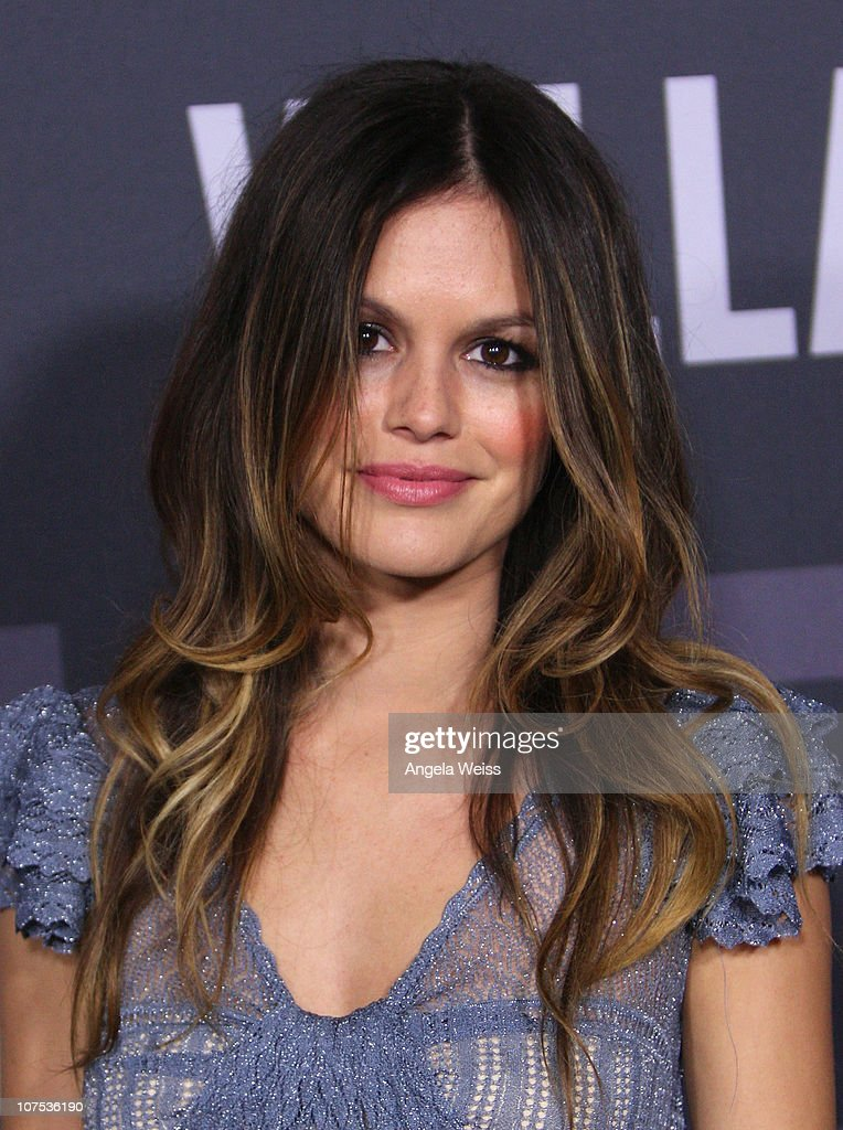Actress <a gi-track='captionPersonalityLinkClicked' href=/galleries/search?phrase=Rachel+Bilson&family=editorial&specificpeople=202655 ng-click='$event.stopPropagation()'>Rachel Bilson</a> arrives at the launch of Target's & William Rast's Limited Edition Collection shopping event at Factory Place on December 11, 2010 in Los Angeles, California.