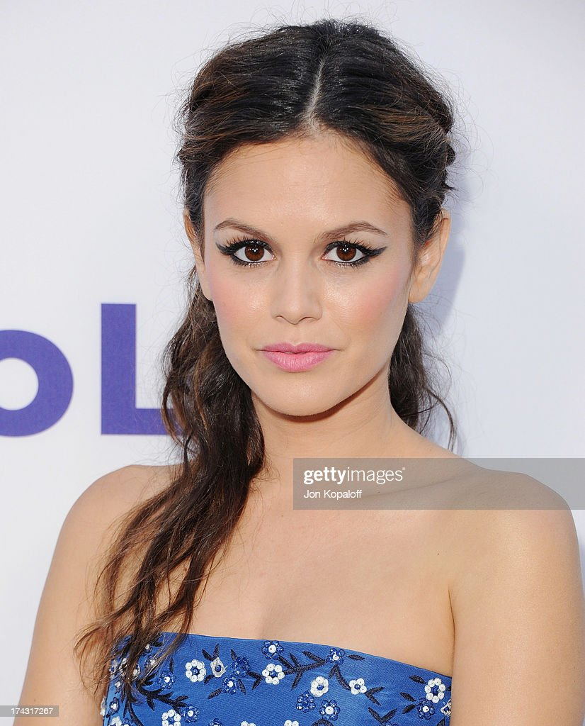 Actress Rachel Bilson arrives at the Los Angeles Premiere 'The To Do List' at the Regency Bruin Theater on July 23, 2013 in Westwood, California.
