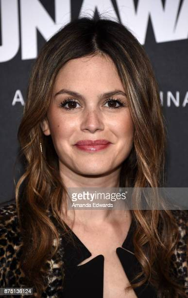 Actress Rachel Bilson arrives at the premiere of Hulu's 'Marvel's Runaways' at the Regency Bruin Theatre on November 16 2017 in Los Angeles California