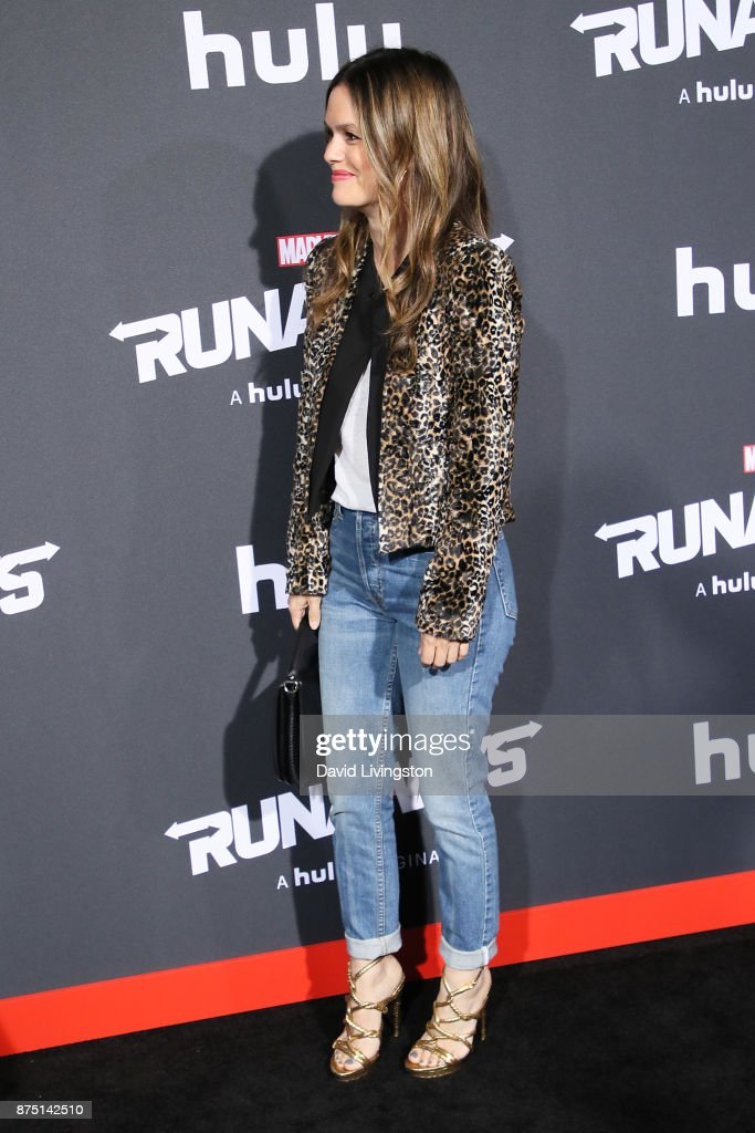 "Premiere Of Hulu's ""Marvel's Runaways"" - Arrivals"