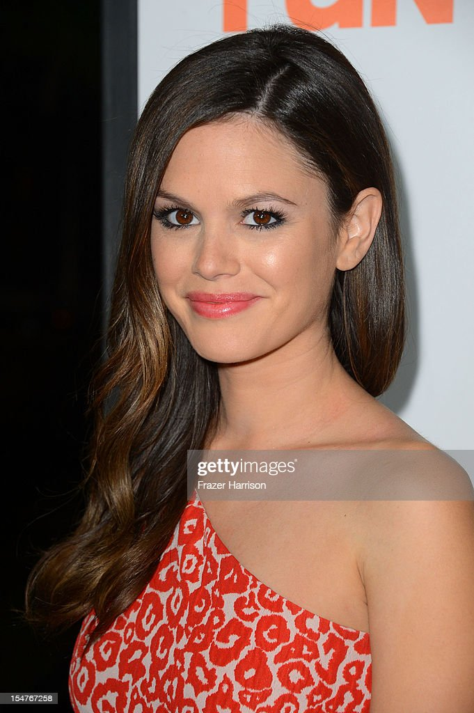 Actress Rachel Bilson arrives at the Premiere of Paramount Pictures' 'Fun Size' at Paramount Theater on the Paramount Studios lot on October 25, 2012 in Hollywood, California.