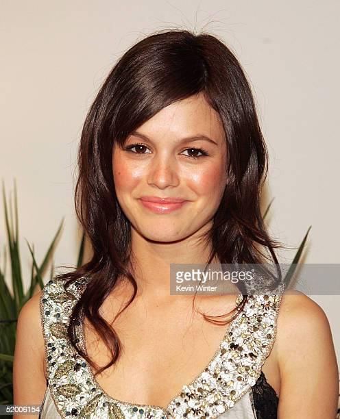 Actress Rachel Bilson arrives at the 'White Hot Winter on Fox' TCA Party at Meson G on January 17 2005 in Los Angeles California