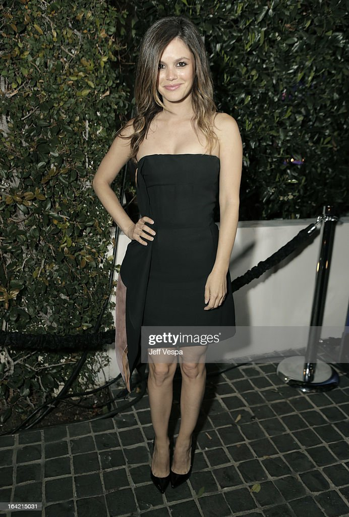 Actress Rachel Bilson attends a celebration of the BlackBerry Z10 Smartphone launch at Cecconi's Restaurant on March 20, 2013 in Los Angeles, California.