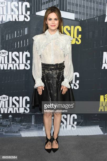 Actress Rachel Bilson attends the 2017 CMT Music Awards at the Music City Center on June 7 2017 in Nashville Tennessee