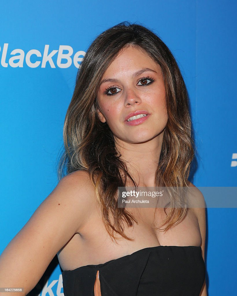 Actress Rachel Bilson attends the BlackBerry Z10 Smartphone launch party at Cecconi's Restaurant on March 20, 2013 in Los Angeles, California.