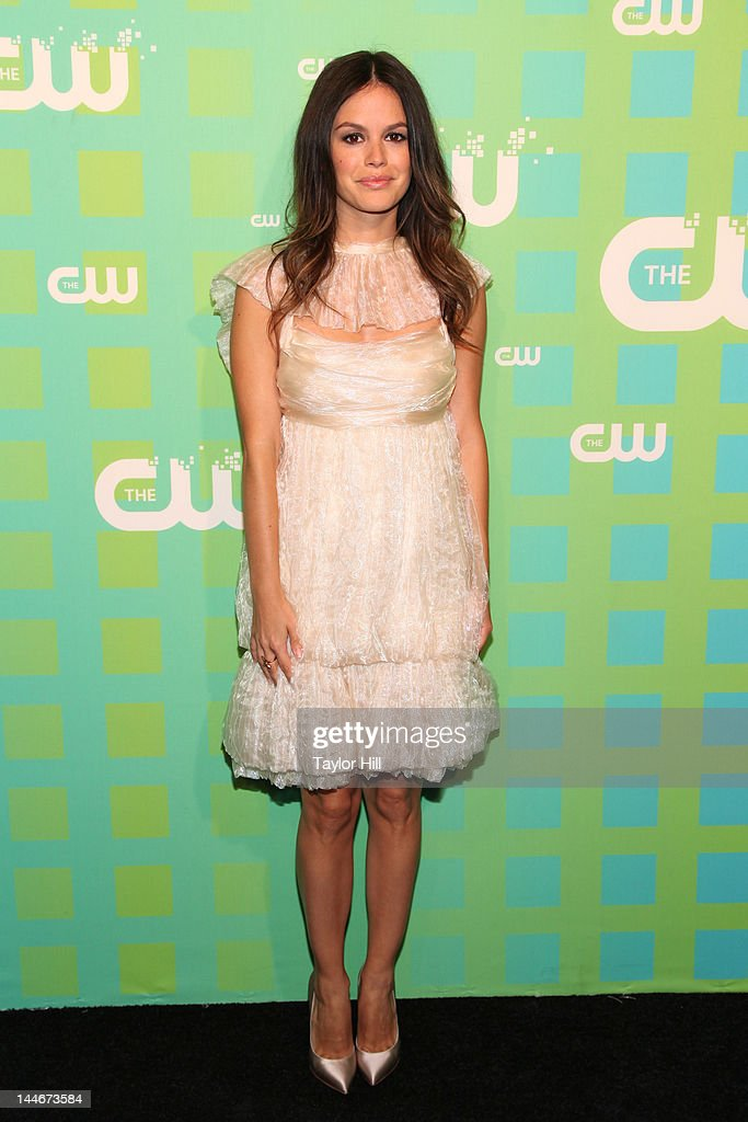 Actress <a gi-track='captionPersonalityLinkClicked' href=/galleries/search?phrase=Rachel+Bilson&family=editorial&specificpeople=202655 ng-click='$event.stopPropagation()'>Rachel Bilson</a> attends The CW Network's New York 2012 Upfront at New York City Center on May 17, 2012 in New York City.