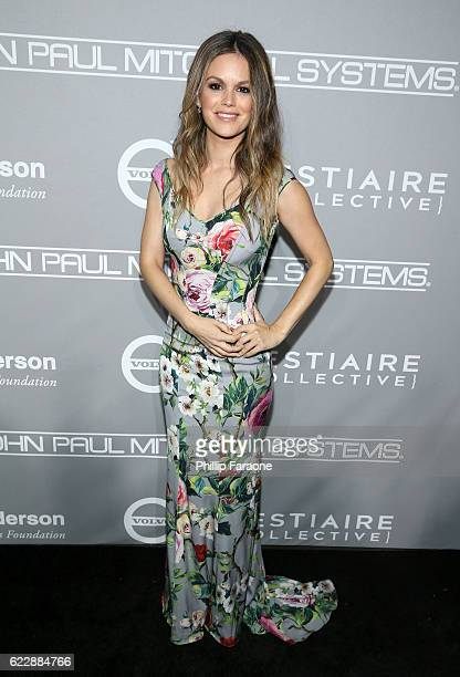 Actress Rachel Bilson attends the Fifth Annual Baby2Baby Gala Presented By John Paul Mitchell Systems at 3LABS on November 12 2016 in Culver City...