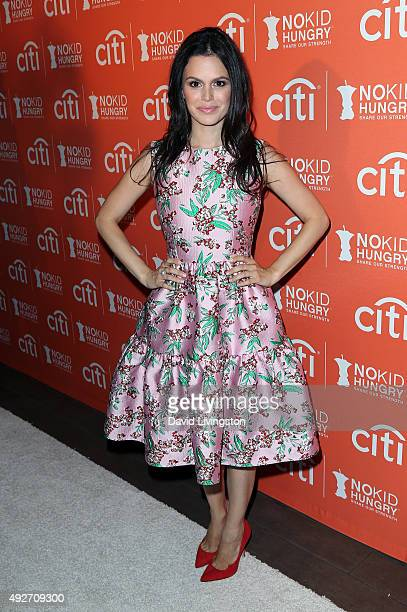 Actress Rachel Bilson attends the No Kid Hungry Benefit Dinner at Four Seasons Hotel Los Angeles at Beverly Hills on October 14 2015 in Los Angeles...