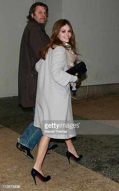 Actress Rachel Bilson visits MTV's 'TRL' at MTV Studios on February 12 2008 in New York City