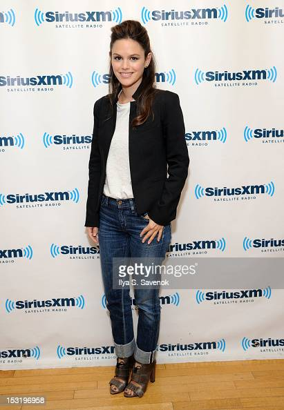 Actress Rachel Bilson visits the SiriusXM Studio on October 1 2012 in New York City