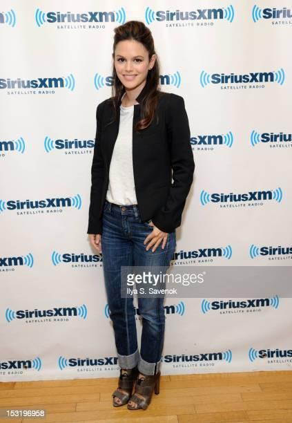 Actress Rachel Bilson visits the SiriusXM Studio on October 1 2012 in New York City