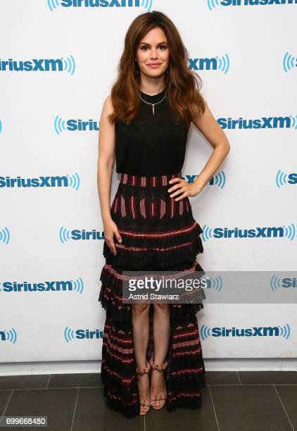 Actress Rachel Bilson visits the SiriusXM Studios on June 22 2017 in New York City