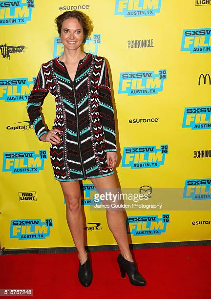 Actress Rachel Blanchard attends the 'You Me Her' premiere during the 2016 SXSW Music Film Interactive Festival at Vimeo on March 15 2016 in Austin...