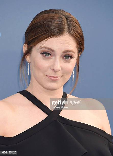 Actress Rachel Bloom arrives at The 22nd Annual Critics' Choice Awards at Barker Hangar on December 11 2016 in Santa Monica California