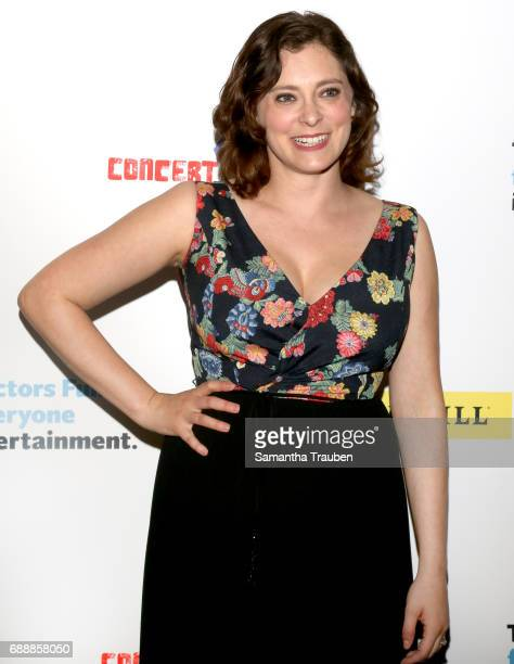 Actress Rachel Bloom attends Concert for America Stand Up Sing Out at Royce Hall on May 24 2017 in Los Angeles California