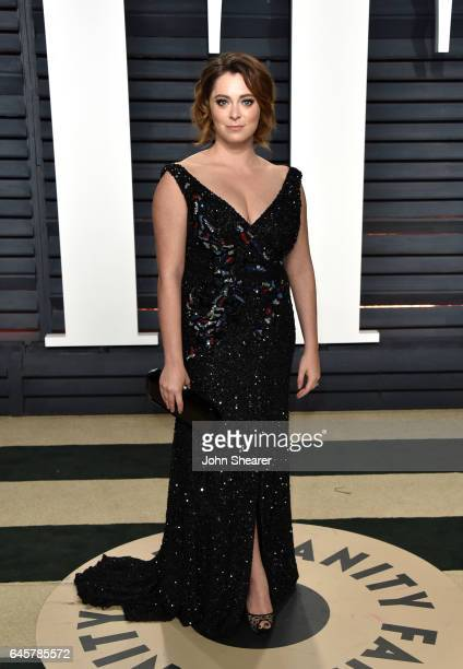 Actress Rachel Bloom attends the 2017 Vanity Fair Oscar Party hosted by Graydon Carter at Wallis Annenberg Center for the Performing Arts on February...